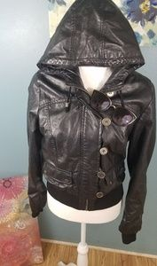 Toxik Black Jacket Size L